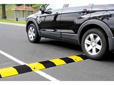 Slo-motion speed humps provide more than four times the load bearing contact area with the road surface of other speed control systems