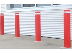 Centurian fixed below ground steel bollards for traffic control and property protection