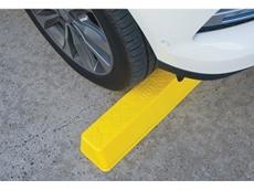 Compliance wheel stop