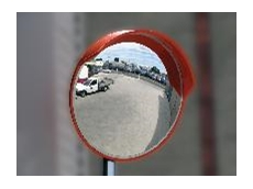 Convex indoor and outdoor mirrors