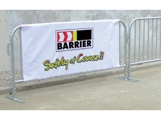 Event fence barrier systems are designed specifically for crowd control