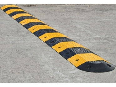 Exceptionally durable Economy Rubber Speed Humps