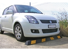 High Strength Speed Humps and Wheel Stops from Barrier Group