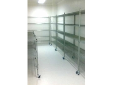 Modular wire shelving system