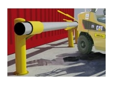 New Shock Absorbing Guard Rails from Barrier Security Products