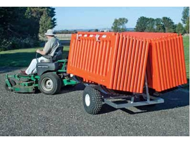 Q-Caddy rapid deployment crowd barrier system from Barrier Group