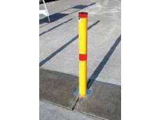 BR900 powder-coated bollard