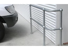 Ball-fence modular galvanised handrail system