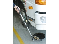 Vehicle inspection mirrors from Barrier Security Products