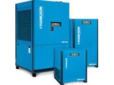 Refrigerated compressed air dryers available from Basil V R Greatrex