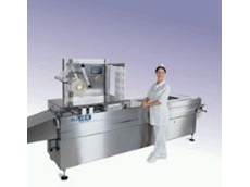 Hajek's VS-30 vacuum packaging machine.