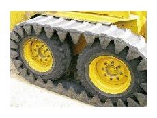 Trackmaster rubber tracks