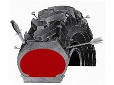 Tyres filled with the flatproofing material last two to five times longer than air-filled tyres.