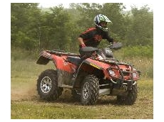 An All Terrain Vehicle (ATV) with Carlisle tyres, protected by Arnco ReSeal