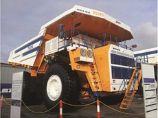 Belaz mining trucks make their way into Australia