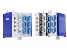 Belden introduces a new modular industrial patch panel