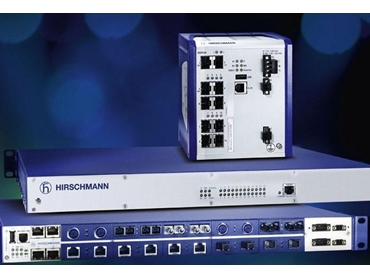 Hirschmann industrial Ethernet switches including PoE Plus