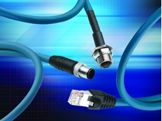 Rugged industrial ethernet cordsets/patch cords from Belden