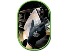 Zorb-IT Black Lite 4540 gloves with light oil absorbency