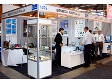 Bestech Australia's stand at the NMW 2012
