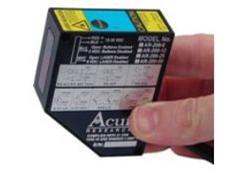 Compact laser measurement sensor