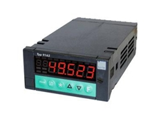Digital indicator with data processing