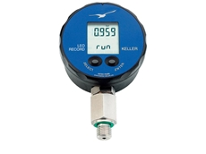 Digital pressure gauges from Bestech Australia log pressure and temperature data