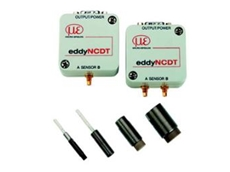 Eddy current displacement sensor system