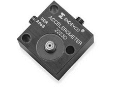 Endevco 2223D Triaxial piezoelectric accelerometer