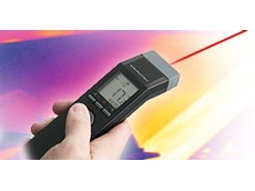 Handheld infrared temperature sensor