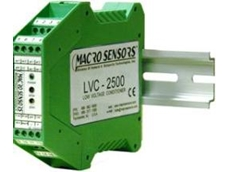 Macrosensors' LVC 2500 LVDT signal conditioners available from Bestech Australia