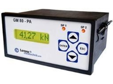 Measuring amplifier with data logger available from Bestech Australia
