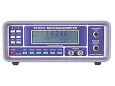 Micromanometer for pressure and flow measurements available from Bestech Australia