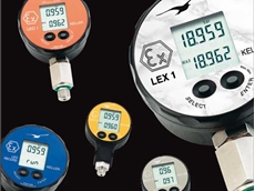 ATEX compliant electronic pressure gauges