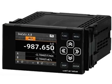 New WPMZ series digital panel meters for rotation, speed and flow rate measurements