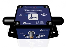 New ultra low power Wi-Fi accelerometer with data logger