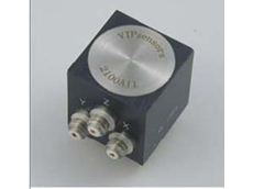 Triaxial integral electronics piezoelectric accelerometer