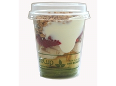 BioPak's  compostable PLA clear cold cups
