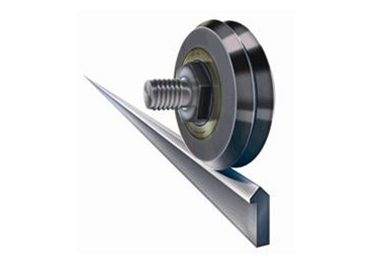Dual Vee Bearing Guide Wheels Available From Bishop