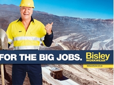 The core creative idea for Bisley's campaign is 'For the BIG jobs'