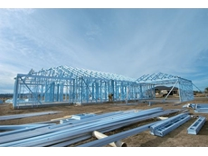BlueScope Steel's TRUECORE steel makes steel building frames
