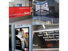 Advertising signs