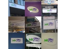 Blueprint Concepts creates signage for Jobfind