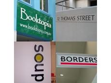 Bookshop signage