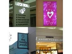 Jewellery shop signage