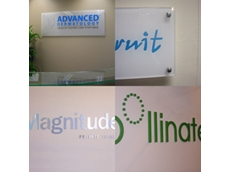 Office signage available from Blueprint Concepts