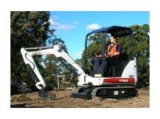 Bobcat Australia Releases the New Bobcat Model 323 Compact Excavator