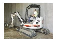 Bobcat Australia's New 430 Zero House Swing Excavator