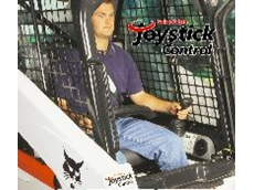 The Bobcat joystick includes adjustable inching control.