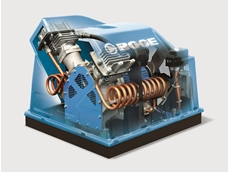 Oil-free piston compressors